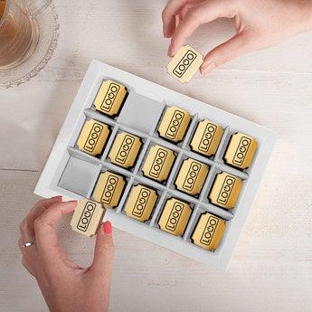 Logo chocolates - Rectangular (15 pieces)