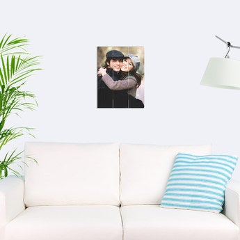 Foto auf Holz Bretter Vertikal (30x40 cm)