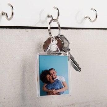 Schlüsselanhänger Transparent Set von 3