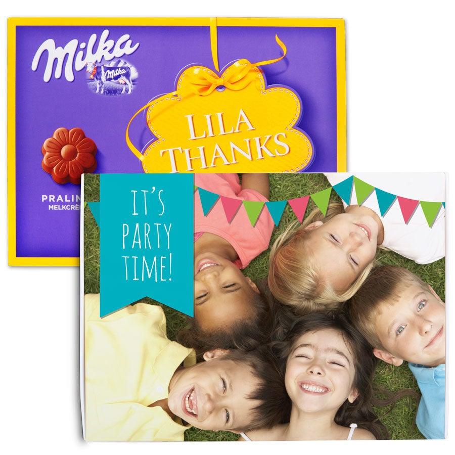 Milka chocobox - Verjaardag - 110 gram