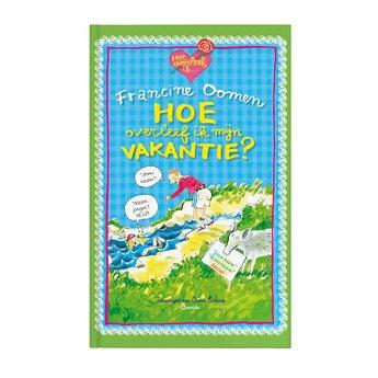 Boek met naam - Hoe overleef ik mijn vakantie (Softcover)