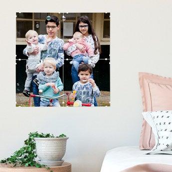 Bicsy Fotodruck  40 x 40 cm (Set aus 4 Paneelen)