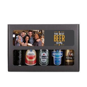 Bier Geschenkset Holändisches Bier