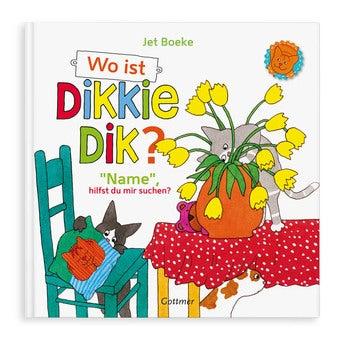 Buch mit Namen Wo ist Dikkie Dik (Hardcover)