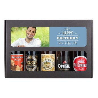 Belgisches Bier Geburtstagsset