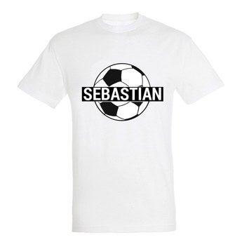 WM T Shirt Unisex Weiß XXL