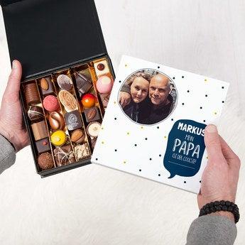 Pralinen mit Foto Vatertag 25 Stück
