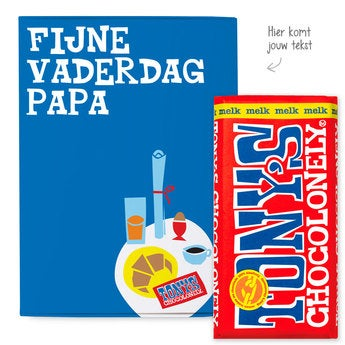 Tony's Chocolonely Giftbox Vaderdag (Melk)