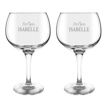 Gin Tonic Gläser 2 Stück