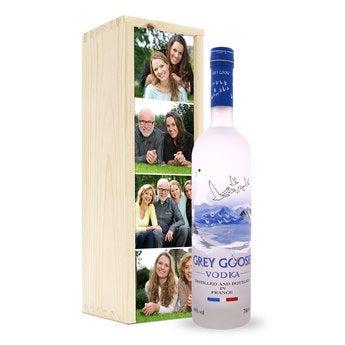 Vodka - Grey Goose - in kist