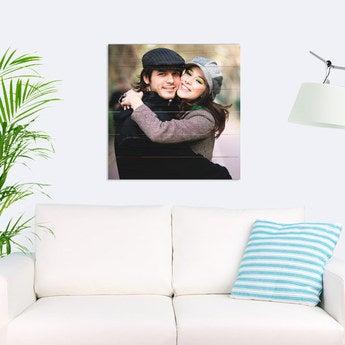 Foto auf Holz Bretter Quadratisch (60x60cm)