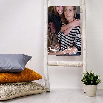 Mother's Day fleece blanket - 75 x 100 cm