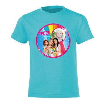 Kinder T-shirt - K3 - Blauw - 10 jaar