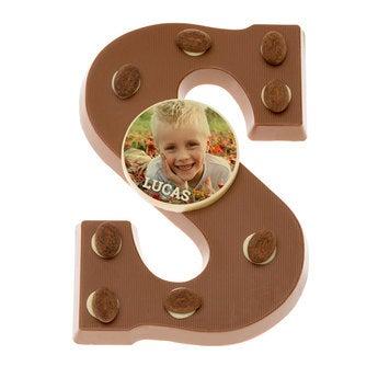 Schokoladenbuchstabe Milch