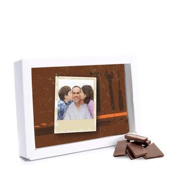 Schokolade Vatertag Dunkle Schokolade
