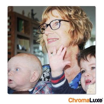 Fototafel ChromaLuxe 50x50 cm gebürstet