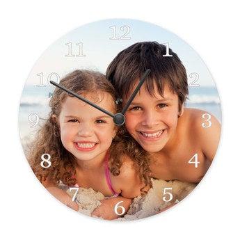 Uhr Rund Medium (Hartfaser)