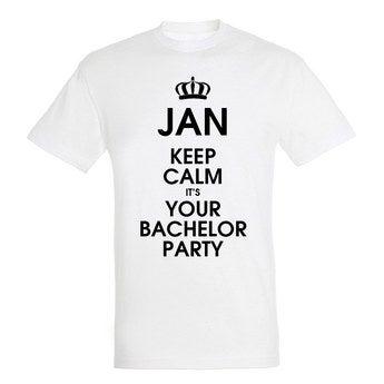 T Shirt Herren Weiß XL