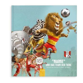 Buch mit Namen Du und das Team der Tiere (Hardcover)