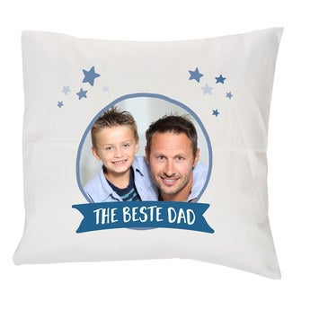 Father's Day pillow - White