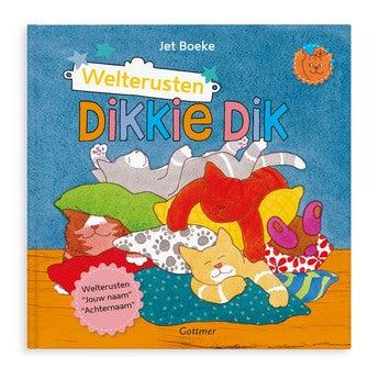 Boek met naam - Dikkie Dik Welterusten (Softcover)