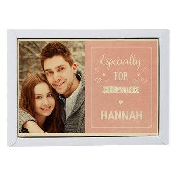 Chocolate Valentine's Card - Large