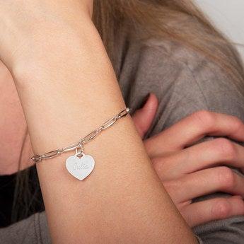 Armkette mit Gravur -  Herz
