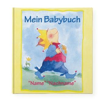 Buch mit Namen Mein Babybuch