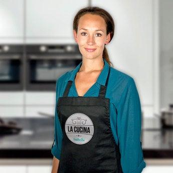 Kochschürze Schwarz