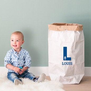 Papiersack fürs Kinderzimmer
