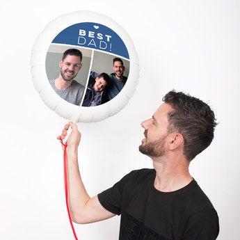 Ballons bedrucken Vatertag