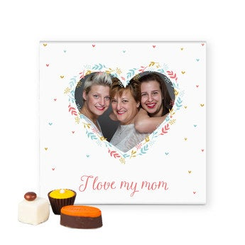 Luxury gift box of chocolates - Mother's Day - 25 pieces