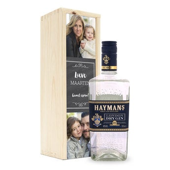 Gin - Haymans london dry - in kist
