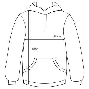 hoodie größen
