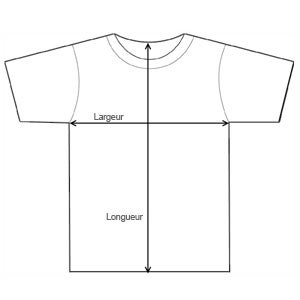 Tailles T-shirt