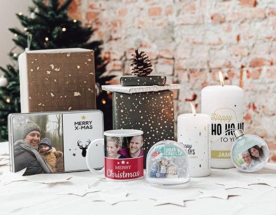 Cadeaux personnalisés pour Noël